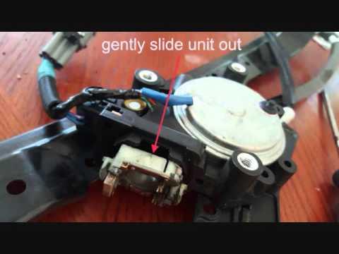 nissan power window motor repair