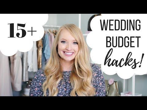 15+ Wedding Budget HACKS!