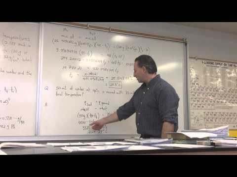 Thermodynamics Part 4a: Heat Transfer