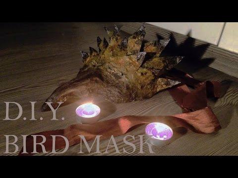 D.I.Y Halloween Bird Mask
