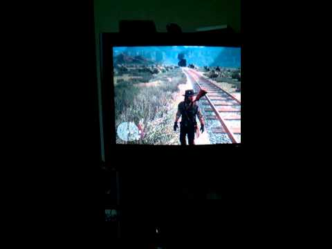 Red dead redemption rail road track death