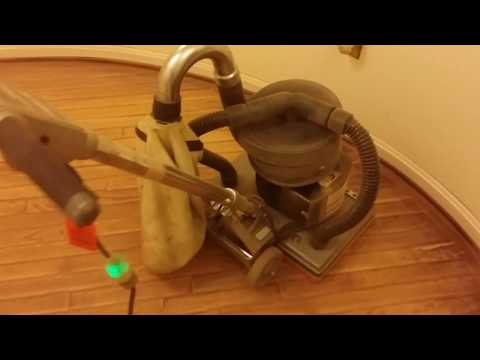 How to refinish hardwood floors - Step 1 Sanding