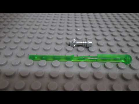 How to Build Your Own Custom Lego Lightsaber