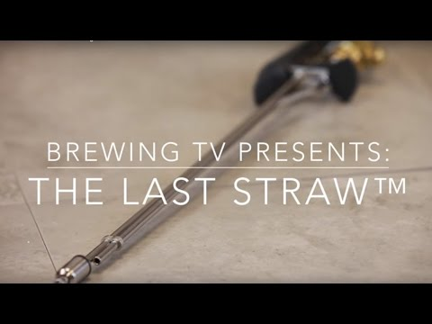 The Last Straw Bottle Filler from Keg to Bottle