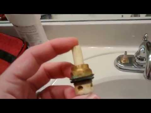 Fixing a leaky Price Pfister Faucet fast!