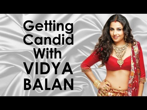 Getting Candid With Vidya Balan