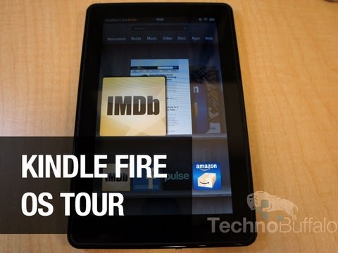Kindle Fire OS Tour