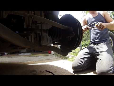 How to replace tie rod ends (2005 odyssey)