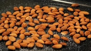 How To Make Salted Roasted Almonds Nuts Milk Seeds Grains