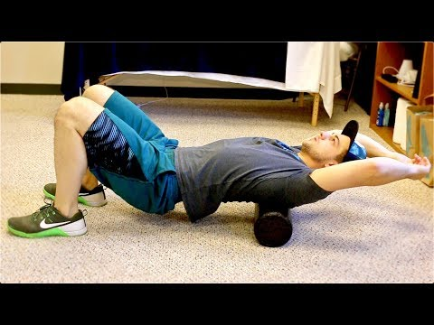 Foam Roll Out Tension and Muscle Knots! (Quick Routine)