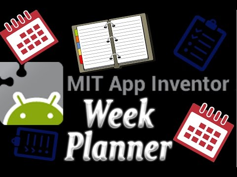 Make Your Own Day Planner | Tutorial | MIT App Inventor 2