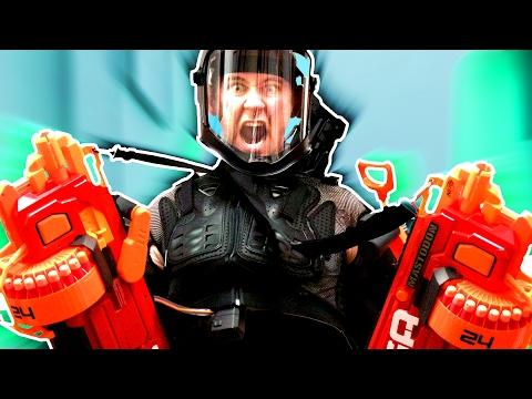 NERF Juggernaut Challenge!