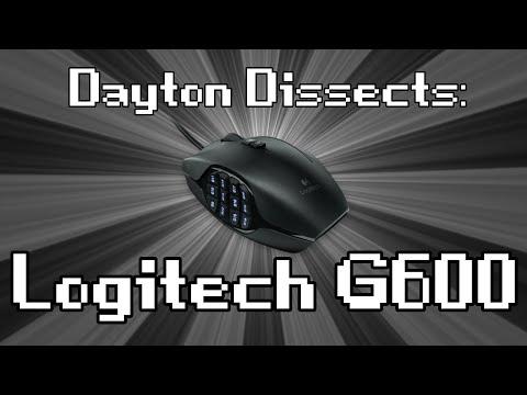 Logitech G600 : Dayton Dissects