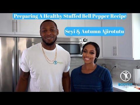 Stuffed Bell Peppers Healthy Recipe Featuring Autumn Ajirotutu