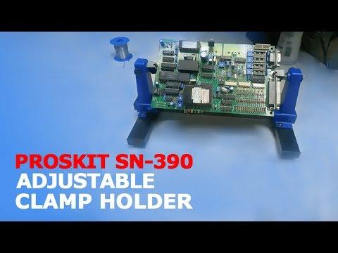 PROSKIT SN 390 ADJUSTABLE SOLDERING CLAMP HOLDER