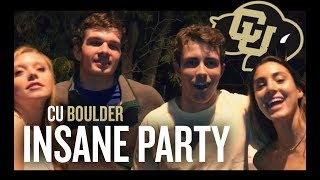 The CRAZIEST Frat Party EVER: CU Boulder (College Vlog)