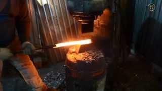Как куется дамасская сталь - Кузнечный Двор
