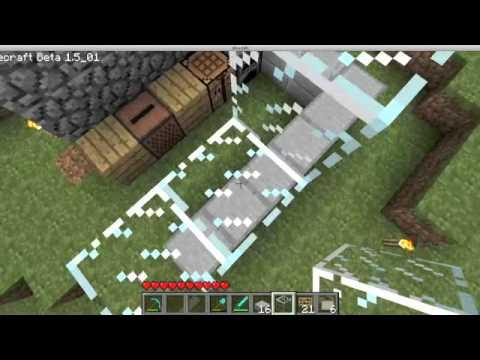 Minecraft:How To Make A Bar