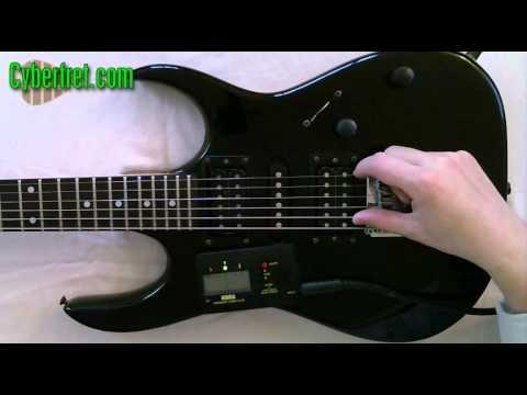 Electric Guitar Intonation Setup