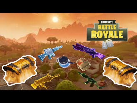 5 BEST PLACES TO FIND LEGENDARY LOOT In Fortnite Battle Royale & 5 BEST Chest location!!!!