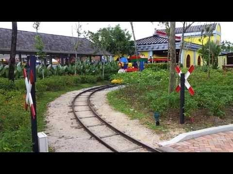 Legoland train at Malaysia