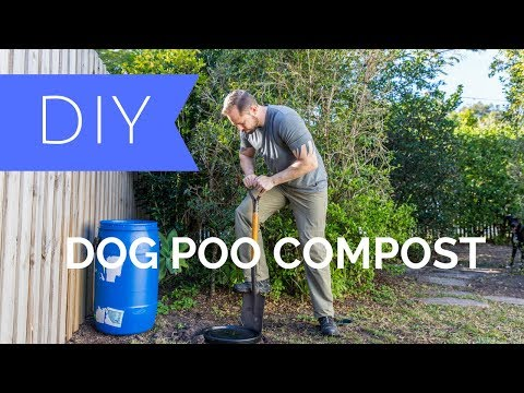 DIY Dog Poo Compost