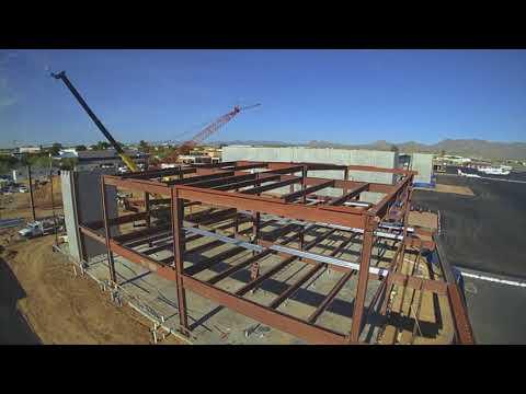 ABC building takes shape