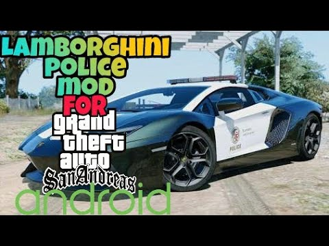 (Hindi) how to replace cop car in gta sanandreas android