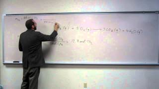 Calculate Percent Yield From Moles Of Reactant 001