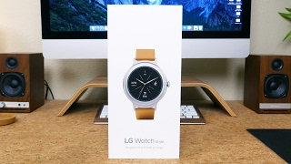 LG Watch Style Unboxing and First Look
