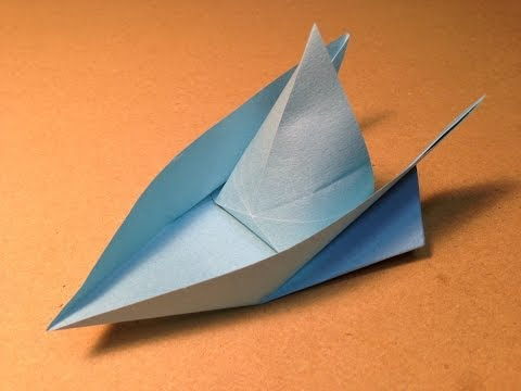 How to make an Origami Boat / Instructions / Tutorial