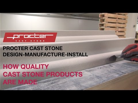 How cast stone products are made