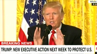 """""""The Leak Is Real! The News Is Fake!"""" President Trump EPIC Press Conference"""