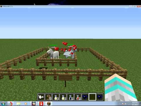 minecraft 1.7.2 how to get a fairy horse