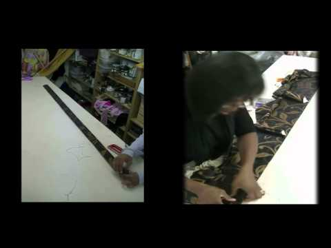 How to make a beautiful Goblet Pinch Pleat Pelmet Valance Part 2