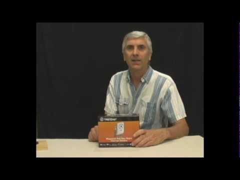 TRENDnet Megapixel PoE Day-Night Internet Camera TV- IP572PI Box Opening Review