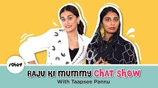 Raju Ki Mummy Chat Show With Taapsee Pannu | Dolly Singh | Thappad Promotions | iDiva