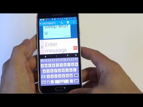 Samsung Galaxy S5: How to Change Text Message Font Size - Fliptroniks.com