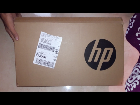 HP Laptop 15-AY020TU UNBOXING