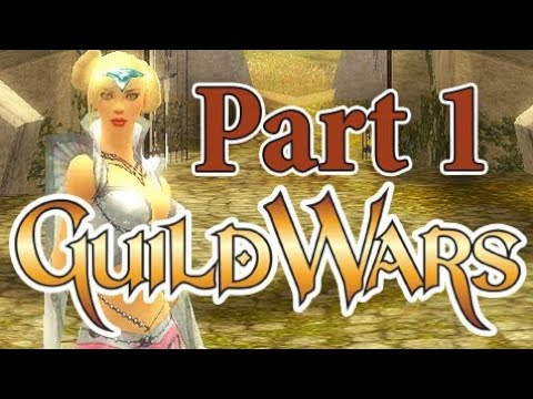 Let's Play: Guild Wars Prophecies - Part 1 - Our first Steps!