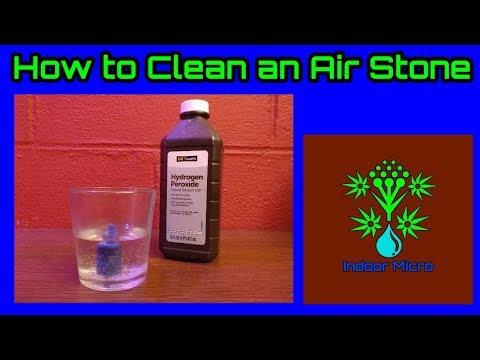 How to Clean an Air Stone