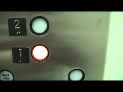 (FINAL RIDE) OTIS hydraulic rear elevator @ IKEA-Bridgeport, Richmond