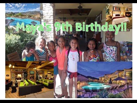 Maya's 9th Birthday Bash at the Lawerence Welk Resort