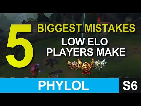 5 biggest mistakes low elo players make that stop them climbing - League of Legends