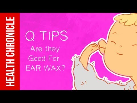 Are Q Tips Bad For Ears?