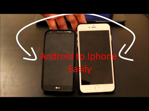 How to easily move from Android to Iphone (No iTunes Errors)