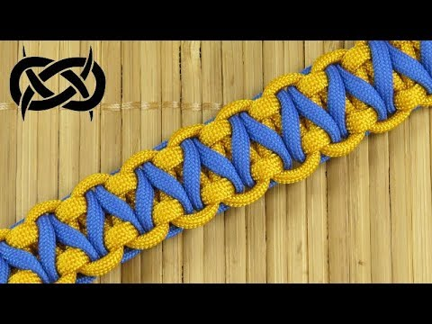 How to weave the Reduced Hogwarts Express Paracord Bracelet