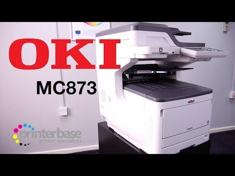 OKI MC873 A3 Colour Laser MFP Review | printerbase.co.uk