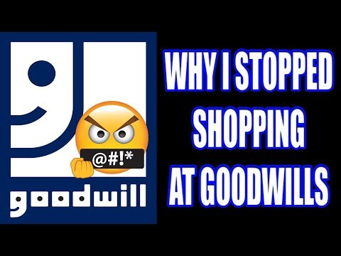 WHY I STOPPED SHOPPING AT GOODWILLS (🅶🅾🅾🅳🆆🅸🅻🅻🆂 🅿🆁🅸🅲🅴🆂 🅰🆁🅴 🆃🅾🅾 🅷🅸🅶🅷) 𝐆𝐎𝐎𝐃𝐖𝐈𝐋𝐋𝐒 𝐈𝐒 𝐇𝐎𝐑𝐑𝐈𝐁𝐋𝐄
