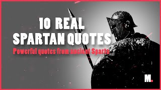 Spartan Quotes to Strengthen Your Character